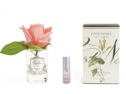 Rose Bud White Peach Clear with box 963x641