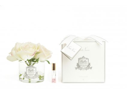 five rose blush pink clear glass with box 1800x1200