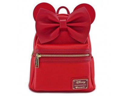 Disney - Červený batůžek - Minnie Mouse