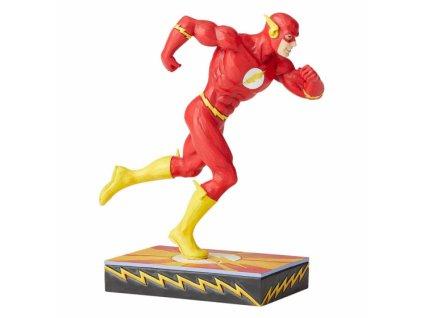 DC Comics - Scarlet Speedster (Flash Silver Age Figurine)