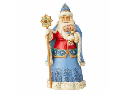 Ukrainian Christmas Wishes (Ukrainian Santa Figurine)