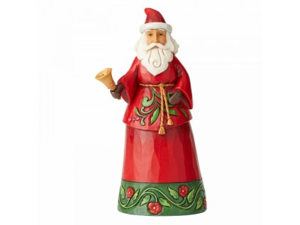 Sound The Christmas Bell (Santa with Bell Figurine)