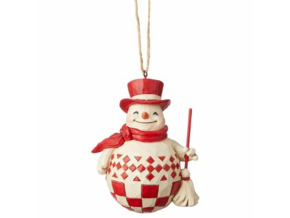 Nordic Noel Snowman (Ornament)