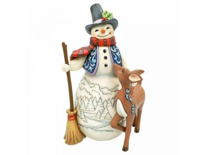Snowman and Deer (4th in Snowman and Friends Series)