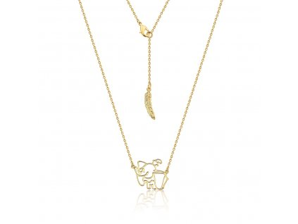 Disney Dumbo necklace yellow gold jewellery jewelry by couture kingdom official DYN472 1200x1200