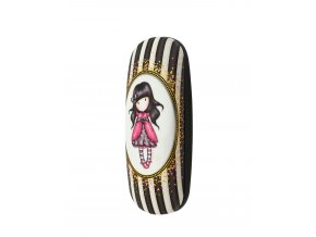 344GJ20 Gorjuss Classic Stripes Glasses Case Ladybird 2 WR