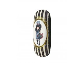 344GJ21 Gorjuss Classic Stripes Glasses Case The Hatter 2 WR