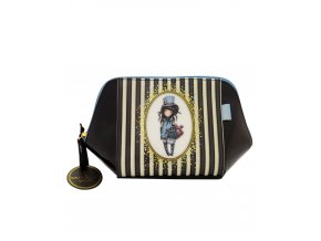 763GJ01 Gorjuss Classic Stripe Large Structured Accessory Case The Hatter 1 WR