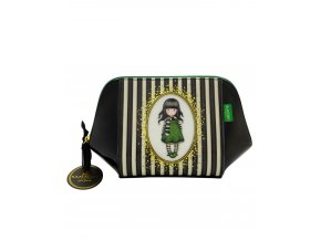 763GJ02 Gorjuss Classic Stripe Large Structured Accessory Case The Hatter 1 WR