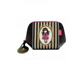 627GJ03 Gorjuss Classic Stripes Structured Accessory Case Ladybird 1 HR