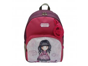 693GJ02 Gorjuss Vacation 2 zip Rucksack Sugar and Spice Front wr