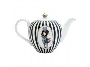 643GJ01 Gorjuss Teapot The Hatter 3 WR