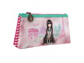 324GJ14 Gorjuss Cityscape Double Pencil Case RB 1 WR