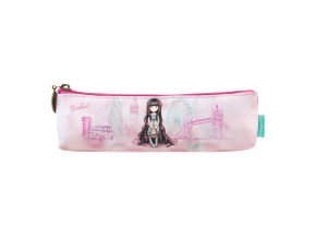 775GJ02 Gorjuss Cityscape Pencil Case Friends Rosebud 1 WR