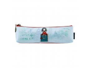 775GJ03 Gorjuss Cityscape Pencil Case My Story 1 WR