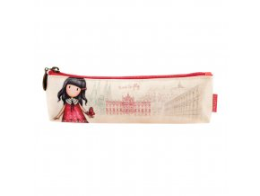 775GJ04 Gorjuss Cityscape Pencil Case Time To Fly 1 WR