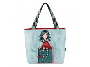 388GJ09 Gorjuss Cityscape Lunch Bag My Story 1 WR