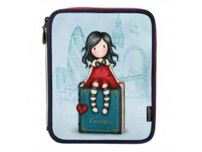 688GJ07 Gorjuss Cityscape Double Filled Pencil Case My Story 1 WR 87bfda68a2
