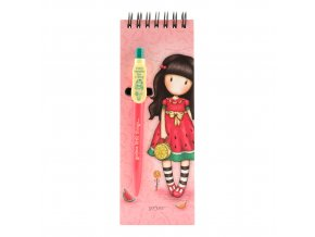 799GJ08 Gorjuss Jotter with Pen ESHAS 1 WR