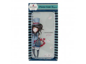 840GJ04 Gorjuss iPhone 8 Case The Hatter 3 WR