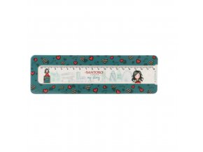 800GJ03 Gorjuss Cityscape Pencil Box MS 1 WR