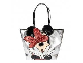 Disney - Stříbrná kabelka Minnie Mouse