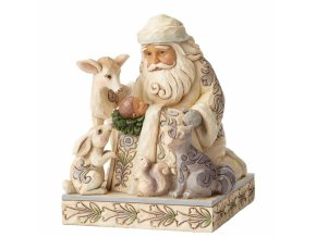 Miracle In The Moonlight (White Woodland Santa)