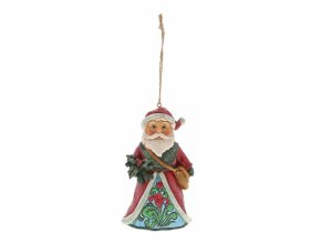 Winter Wonderland Santa Holly (Ornament)