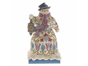 Be The Light (Victorian Snowman)