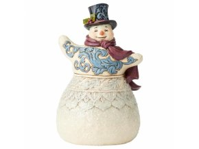 Frosty Formailty (Victorian Snowman)