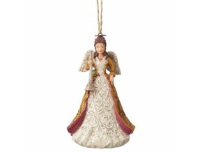 Victorian Angel with Horn (Ornament)