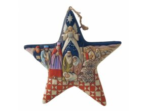 Nativity Star (Ornament)