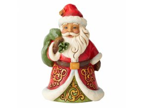 Be True and Believe (Santa with Bag)