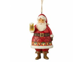 Craft Beer Santa (Ornament)