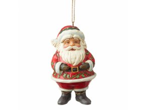 Mini Jolly Santa (Ornament)