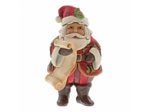 Mini Santa with List