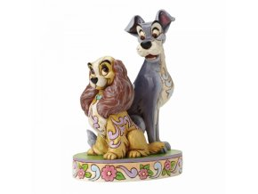 Disney Traditions - Opposites Attract (Lady and The Tramp 60th Anniversary Piece)