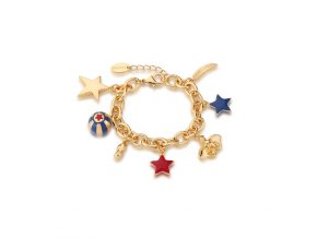 Disney Dumbo Charm bracelet Yellow Gold jewellery jewelry by couture kingdom official DYBR480 900x