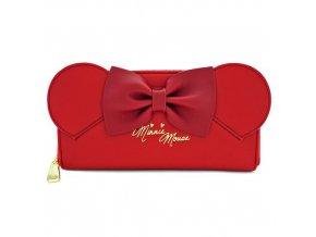 Disney - Červená peněženka - Minnie Mouse