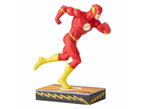 DC Comics - Scarlet Speedster (Flash Silver Age Figurine)