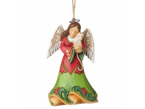 Angel Holding Kitten (Ornament)