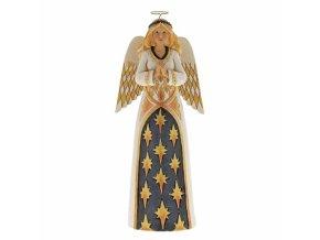 Gracious Greetings (Black & Gold Angel)