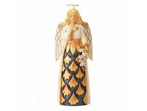Generosity Of Spirit (Black and Gold Angel)