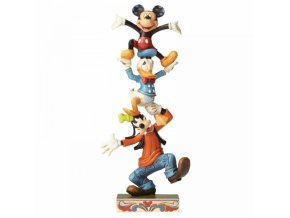 Disney Traditions - Teetering Tower (Goofy, Donald Duck and Mickey Mouse)