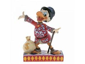 Disney Traditions - Treasure Seeking Tycoon (Scrooge Figurine)