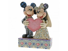 Disney Traditions - Two Souls, One Heart (Mickey Mouse and Minnie Mouse)