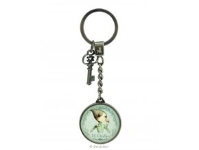498ec01 santoro london mirabelle metal and glass key chain if only 011247533