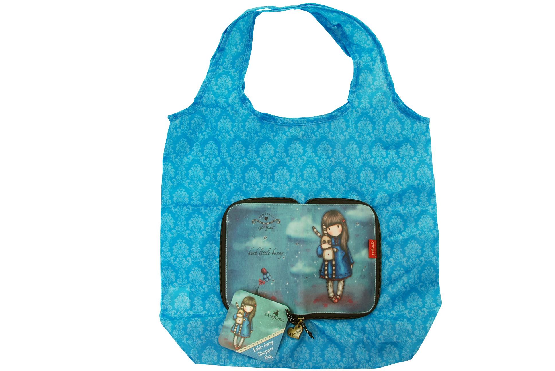 Gorjuss - Skládací nákupní taška - Hush Little Bunny