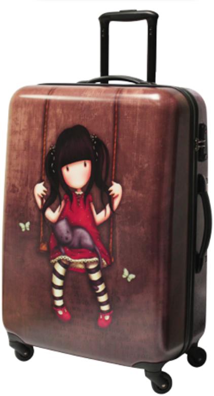 Gorjuss - Velký kufr - Ruby