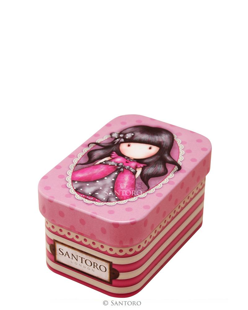 Gorjuss - Malá plechová krabička - Ladybird